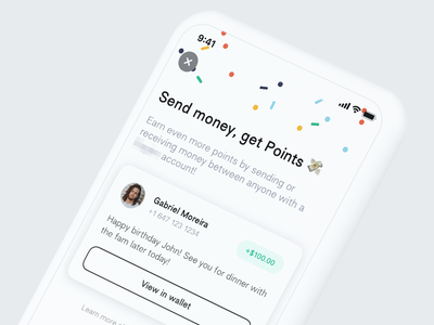 Send Money send money money peer to peer p2p payments payment money transfer madeintoronto minimal ui ux ios wallet wallet app toronto