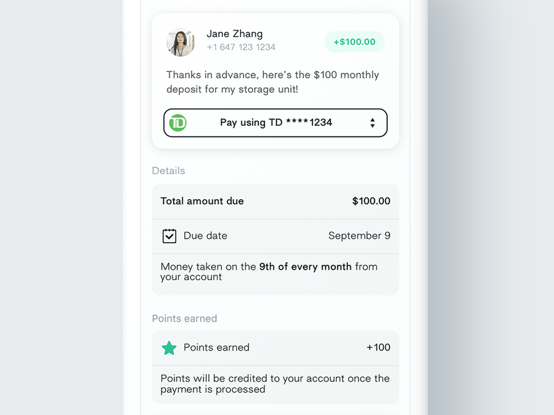 Schedule Payment design list items list navigation quick access clean schedule payment payments minimal payment app ios peer to peer p2p schedule payment