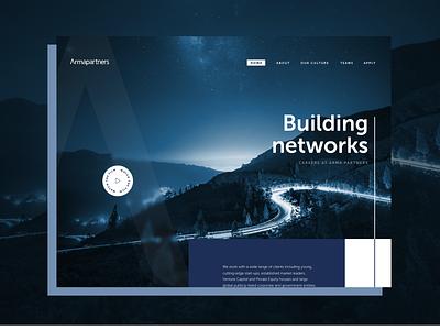Arma Partners concept design agency design website concept employer branding ux web design photography branding ui