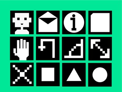 Basic shapes Icons