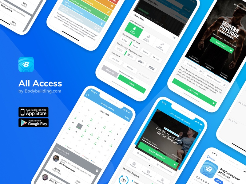 All Access App Preview by Mirko Ivancic | Dribbble | Dribbble