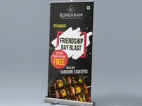 Rollup Design For Friendshipday