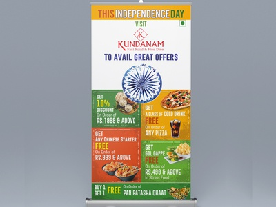 Rollup Design For Independence Day