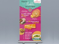 Rollup Design For Rakhi Festival