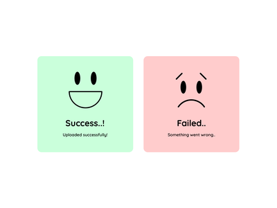 Flash Message error-successmessage success error flashmessage 011 vector cardlayout card design card ui typography design