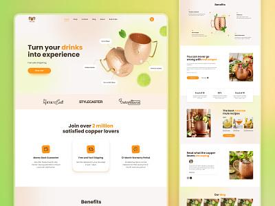 B.Weiss Cooper | Cooper mugs fresh shop food cooper mugs recipes mugs cup drink brand landing product webdesign company ux ui homepage design