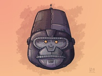 Steampunk Mech-Gorilla