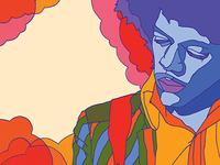 Hendrix Exhibit Title Illustration