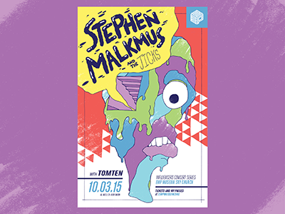 Stephen Malkmus Poster hand-drawn pavement poster