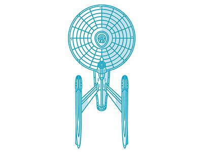 Enterprise(s) Part 3 1701-a vector space scifi star trek enterprise