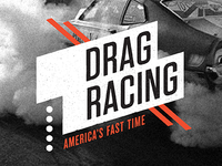 Drag Racing Exhibit Logo