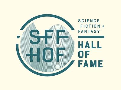 SFF HOF Logo fantasy science fiction museum exhibit logo
