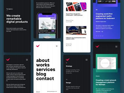 QuadAngles responsive wordpress web concept web design ux design website ui design ui ux mobile app design resposnive mobile design mobile ui mobile