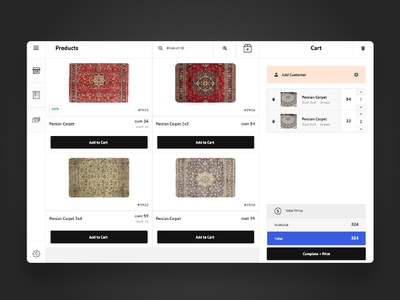Point of sale for carpet store pointofsale pos carpet html web design web branding concept ux design ui design minimal design ux website ui