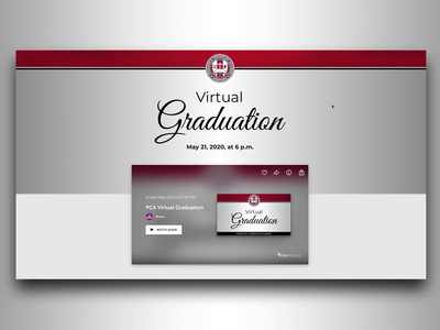 PCA Virtual Graduation Site