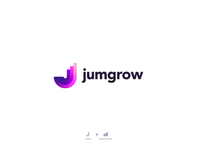 jumgrow logo design identitydesign branding design brand design logo design branding logogrid logo mark marketing agency marketing unfold colors typography brand identity logo concept minimal logodesign icon modern logo logo designer branding design