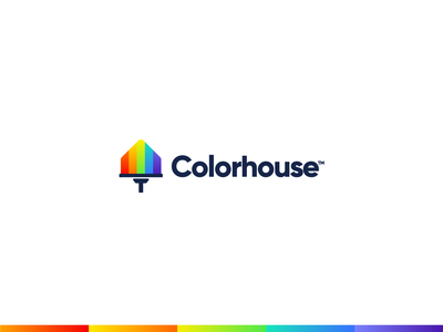 Colorhouse logo design icon ios webdesign app icon brand and identity brand design logo for agency house colors logo creator logo concept brand identity logo mark logo minimal logodesign modern logo logo designer branding design