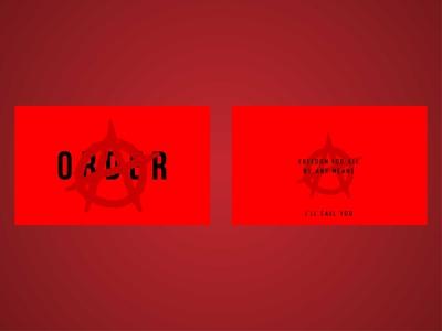 Business Card: Anarky