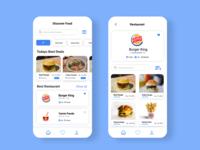 Mobile app - Food Menu