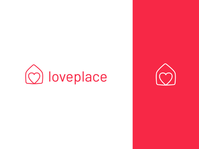 Love Place Logo Design