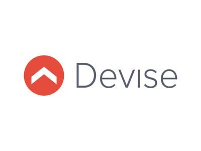Devise Logo logo branding design freelance web app