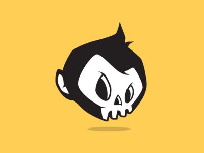 Monkey Skull monkey skull logo logotype