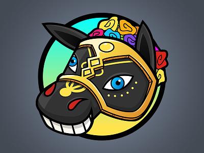 Nicaslang design horse app logo nicaragua