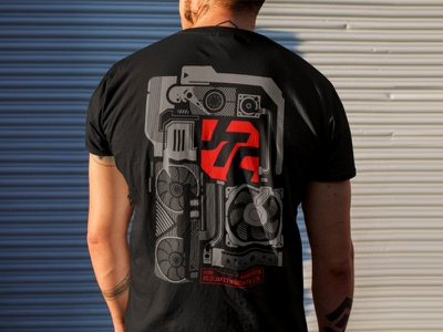 T-Shirt JayzTwoCents typography components motherboard computer technological tech graphics tshirtdesign tshirt