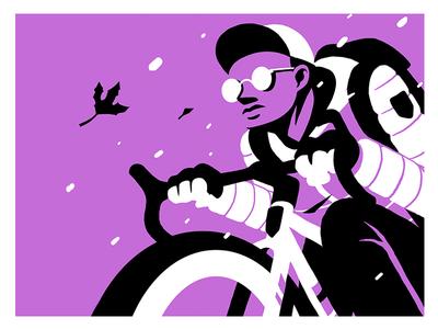Brooklyn Cyclist