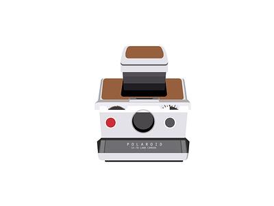 SX-70 Polaroid Illustration polaroid photography design illustration