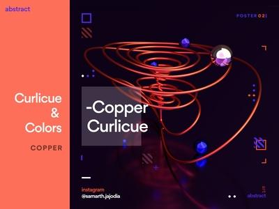 Copper Curlicue [Curlicue & Colors]