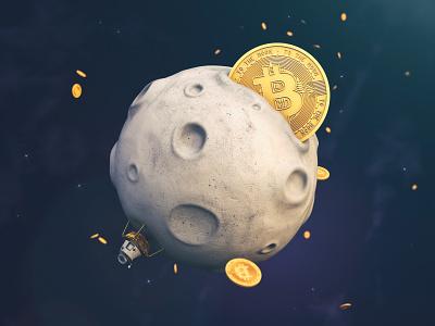 Muskas nori perimti DOGE į tikrąjį moon prieš BTC