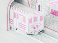 Metro Station (Train Detail)