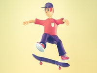 Skater Character