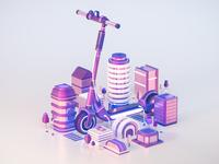 Future of Transportation - E-Scooters