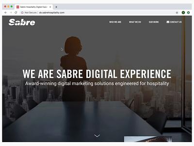 Portfolio Site for SHS Digital Experience Team custom theme html css interaction design wcag accessibility ux wordpress portfolio site