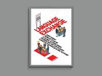 Language Exchange Flyer