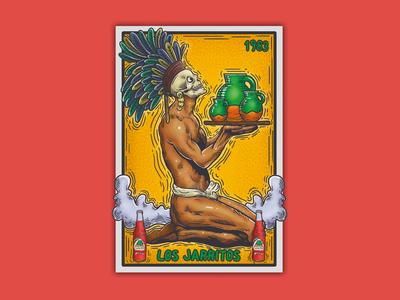 Los Jarritos, lotería mexicana.