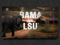 College GameDay Landing Page