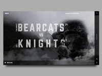 UCF vs Cincinnati Landing Page