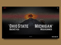 Ohio State vs Michigan Landing Page