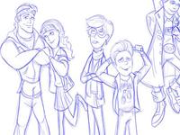 Goonies Illustration Commission, Part 2
