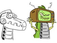 Robo Lizard Concepts