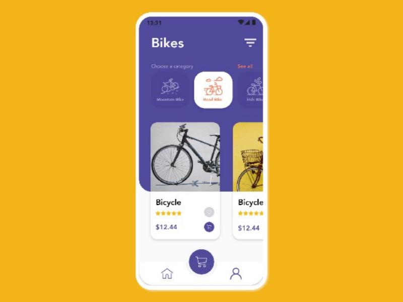 Bike store app bike store dailyui uidesign