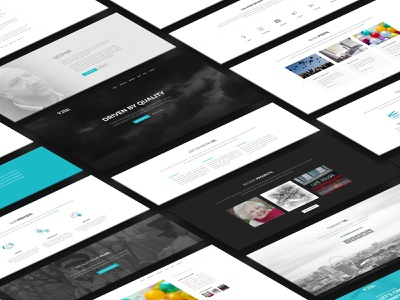 Visual Storm - Website website web design web ux user interface user experience ui typography landing page graphic design design colours clean branding brand identity brand
