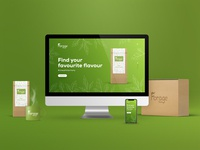 Forage Tea - Landing Page