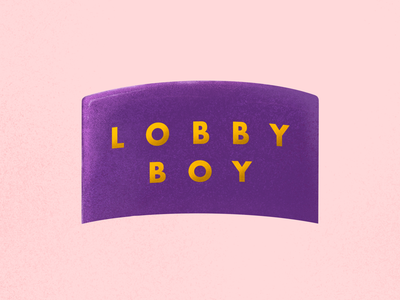 The Grand Budapest Lobby Boy Illustration