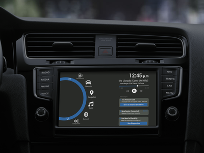 Daily UI #034 - Car Interface daily ui app design ux ui