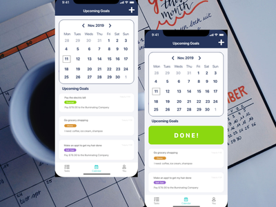 Daily UI #038 - Calendar design calendar ui ux daily ui