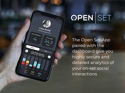 OPEN | SET - Social Distancing App ux ui branding design app social distancing covid19 covid